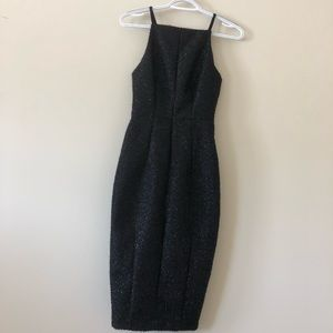 H&M Strapless Pencil Midi Dress size 2